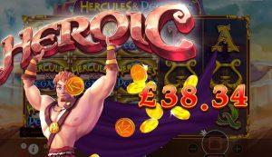 Uu diem cua slot game Hercules & Pegasus hinh anh 2