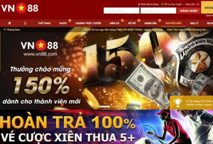 Vn88 hoan tra 100% ve cuoc xien hinh anh 1