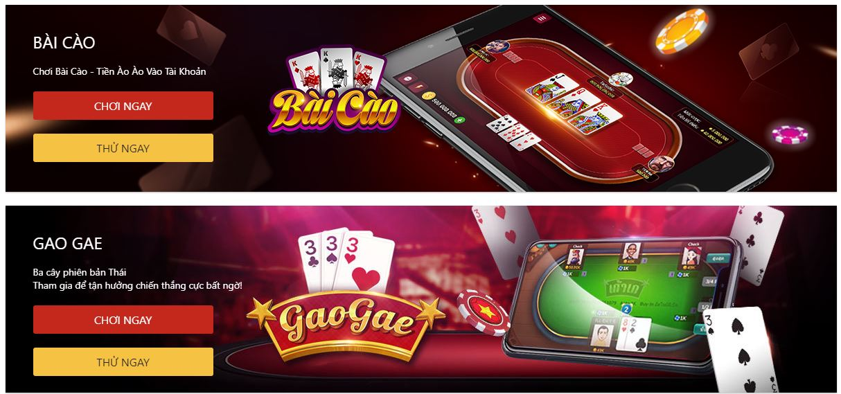 Danh sach top game Casino Vn88